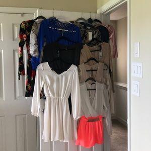 NWT & NWOT Jr Dress & Romper BUNDLE